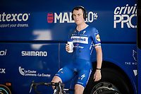 Yves Lampaert (BEL/Deceuninck - Quick-Step) at warm-up<br /> <br /> Stage 13 (ITT): Pau to Pau (27km)<br /> 106th Tour de France 2019 (2.UWT)<br /> <br /> ©kramon