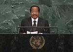 72 General Debate &ndash; 22 September <br /> <br /> by His Excellency Paul Biya, President of the Republic of Cameroon