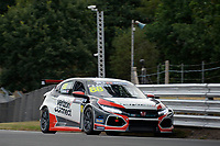 #88 Ashley SUTTON (GBR) Verizon Connect Racing Honda Civic Type-R TCR during TCR UK Championship  as part of the BRSCC TCR UK Race Day Oulton Park  at Oulton Park, Little Budworth, Cheshire, United Kingdom. August 04 2018. World Copyright Peter Taylor/PSP. Copy of publication required for printed pictures.