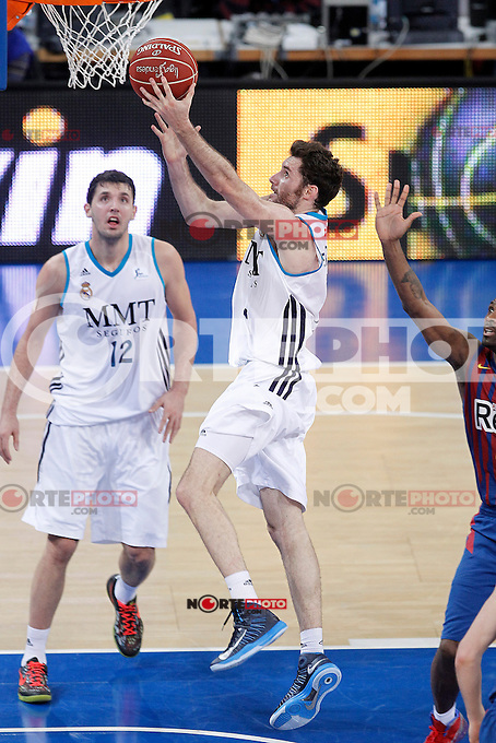 Real Madrid's Rudy Fernandez during Spanish Basketball King's Cup match.February 07,2013. (ALTERPHOTOS/Acero) /Nortephoto