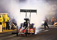 Jul. 26, 2013; Sonoma, CA, USA: NHRA top fuel dragster driver David Grubnic during qualifying for the Sonoma Nationals at Sonoma Raceway. Mandatory Credit: Mark J. Rebilas-