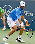 at the Western and Southern Financial Group Masters Series in Cincinnati on August 18, 2011.
