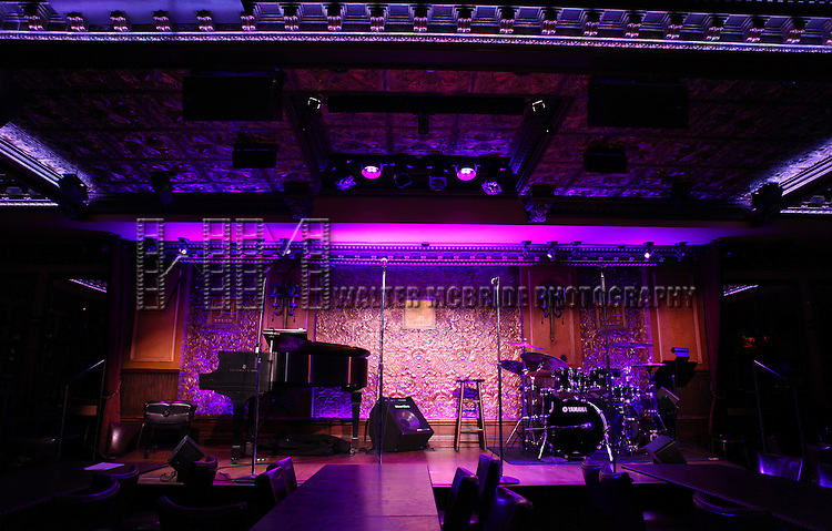 The Stage at the 54 Below press preview on August 7, 2012 in New York City.