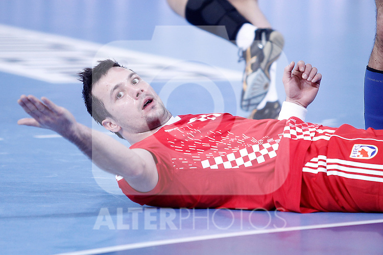 Croatia's Zlatko Horvat during 23rd Men's Handball World Championship preliminary round match.January 12 ,2013. (ALTERPHOTOS/Acero)