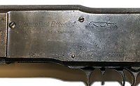 "BNPS.co.uk (01202 558833)<br /> Pic: RRAuction/BNPS<br /> <br /> The Western Field Browning shotgun was the next most valuable fetching an impressive £55,000.<br /> <br /> Crime Pays - The fascinating and poignant archive of America's most notorious gangster couple have sold for a whopping £150,000 at auction.<br /> <br /> The enduring myth of Bonnie and Clyde perpetuated by Hollywood movies led to historic items from their bloody rampage across the wild west fetching high prices over the weekend.<br /> <br /> A pump action shotgun they ditched during a famous shoot-out was sold alongside poignant poetry written by Bonnie, and a bitter letter from Clyde to a former gang member.<br /> <br /> The weapon, with a 15ins barrel, was recovered by police following a gun fight between the infamous outlaws and the authorities at Joplin, Missouri, in 1933, during which two officers were killed.<br /> <br /> Also included in the sale is a gold wristwatch recovered from Clyde's body following his death, a bulletproof jacket found in their car and a no holds barred letter penned by Bonnie, and signed by Clyde, to a hated ex member of the Barrow Gang in prison.<br /> <br /> In it, she writes: ""Due to the fact that you offered no resistance sympathy is lacking. The most I can do is hope you miss the 'chair'."""