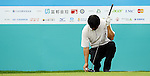 TAIPEI, TAIWAN - NOVEMBER 19:  Wen-chin Chou of Taiwan prepares to tee off on the 10th hole during day two of the Fubon Senior Open at Miramar Golf & Country Club on November 19, 2011 in Taipei, Taiwan.  Photo by Victor Fraile / The Power of Sport Images