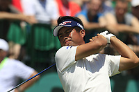 Yuta Ikeda (JPN) tees off the 1st tee to start his match during Thursday's Round 1 of the 117th U.S. Open Championship 2017 held at Erin Hills, Erin, Wisconsin, USA. 15th June 2017.<br /> Picture: Eoin Clarke | Golffile<br /> <br /> <br /> All photos usage must carry mandatory copyright credit (&copy; Golffile | Eoin Clarke)