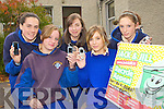 Students from St Bridgids Secondary school Killarney who are appealing for old mobile phones which they are collecting for the Jack and Jill Foundation l-r: Danielle O'Leary, Jackie Sheehan, Ashling Hartnett, Lauren Barton and Amanda Courtney