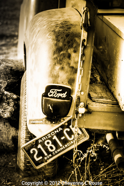 Arizona Ford Truck - sepia<br />