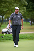 Bryson DeChambeau (USA) sinks his birdie putt on 11 during Rd4 of the 2019 BMW Championship, Medinah Golf Club, Chicago, Illinois, USA. 8/18/2019.<br /> Picture Ken Murray / Golffile.ie<br /> <br /> All photo usage must carry mandatory copyright credit (© Golffile | Ken Murray)
