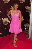 Sunetra Sarker at the Strictly Come Dancing Launch, London, 02/09/2014 Picture by: Alexandra Glen / Featureflash