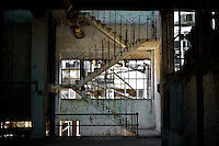 Grase department. Frigorifico (Slaughterhouse) Anglo, Fray Bentos, Rio Negro, Uruguay.  ..Grasería.  Frigorifico Anglo, Fray Bentos, Río Negro, Uruguay.