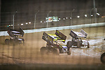 Feb 03 2016 World of Outlaws dirt track racing at LVMS, with modifieds, and Sprint cars