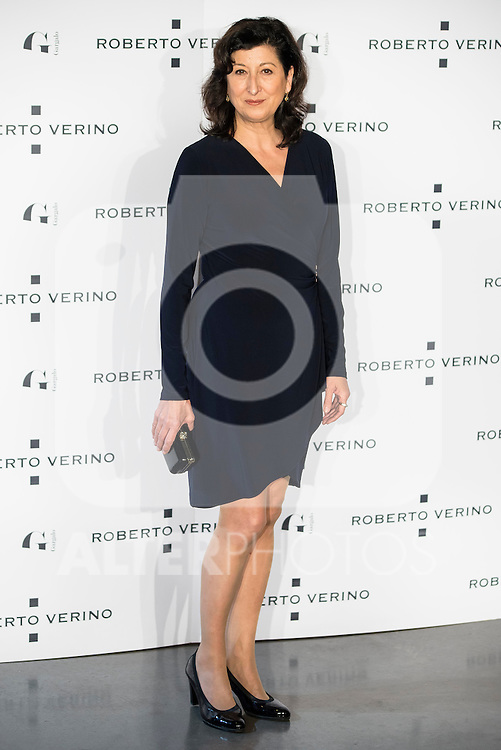 "Montse Alcoverro during the presentation of the new Spring-Summer collection ""Un Balcon al Mar"" of Roberto Verino at Platea in Madrid. March 16, 2016. (ALTERPHOTOS/Borja B.Hojas)"