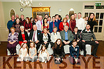80th Birthday: Ann Finucane, Tarbert, fourth from right seated, celebrating her 80th birthday with family at the Listowel Arms Hotel on Tuesday 27th December last.