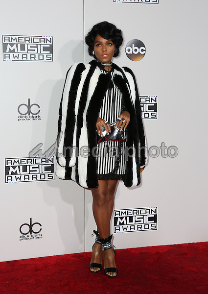 20 November 2016 - Los Angeles, California - Janelle Monae. 2016 American Music Awards held at Microsoft Theater. Photo Credit: PMA/AdMedia