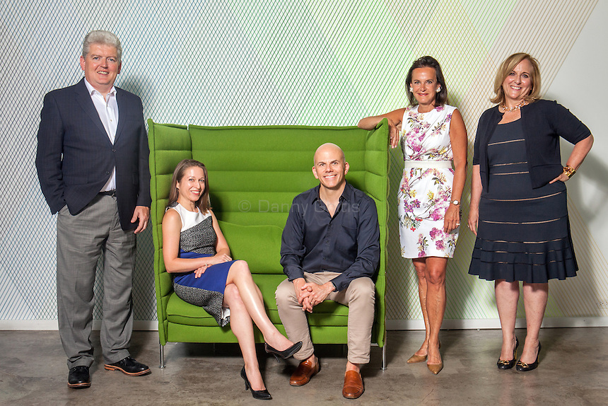 Val McGovern, partner &amp; CFO, Nicole Ferry, partner &amp; executive director of strategy, John Paolini, partner &amp; executive creative director, Barbara Apple Sullivan, founder &amp; managing partner, Nancy Schulman, partner &amp; executive director of strategy<br /> <br />  <br /> Photo by Danny Ghitis