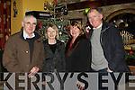 Tim, Marie Kelleher Killarney, Helen and John O'Sullivan Killorglin having fun New Years Eve in Nick's restaurant Killorglin