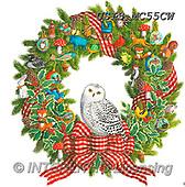 Ingrid, CHRISTMAS SYMBOLS, WEIHNACHTEN SYMBOLE, NAVIDAD SÍMBOLOS,owl, paintings+++++,USISMC55CW,#xx#