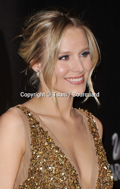 05_ Kristen Bell _05   -<br /> 12th Ann. Costume Designers Guild  Awards - 2010 at the Beverly Hilton Hotel In Los Angeles.
