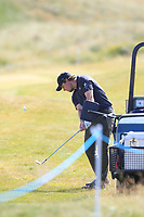 Eddie Pepperell (ENG) on the 10th fairway during Round 2 of the Dubai Duty Free Irish Open at Ballyliffin Golf Club, Donegal on Friday 6th July 2018.<br /> Picture:  Thos Caffrey / Golffile