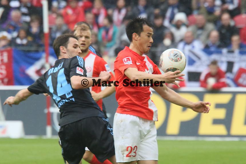 Shinji Okazaki (Mainz) - 1. FSV Mainz 05 vs. Hamburger SV, Coface Arena, 34. Spieltag