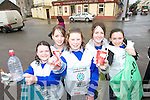 .CLEAN UP: Pupils from the Presentation Secondary School in Milltown took part in a Spring Clean Up of Milltown on Thursday last. .L/r. Catherine Coffey (Beaufort), Ciara Cox (Inch), Grainne Devane (Killarney), Alice Bradley (Castlemaine) and Mollie Dwyer (Killarney).   Copyright Kerry's Eye 2008