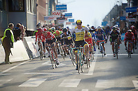 Dylan Groenewegen (NLD/LottoNL-Jumbo) winning the stage 1 bunch sprint<br /> <br /> 3-daagse van West-Vlaanderen 2016<br /> stage1: Bruges-Harelbeke 176km