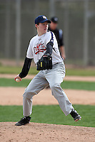 January 17, 2010:  Luke Brunot (Chesapeake, VA) of the Baseball Factory Atlantic Team during the 2010 Under Armour Pre-Season All-America Tournament at Kino Sports Complex in Tucson, AZ.  Photo By Mike Janes/Four Seam Images