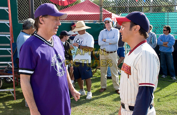 DENNIS DUGAN (DIRECTOR) & ROB SCHNEIDER.on the set of The Benchwarmers.*Editorial Use Only*.www.capitalpictures.com.sales@capitalpictures.com.Supplied by Capital Pictures.