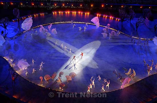 Opening Ceremony, 2002 Olympic Winter Games.; 02.08.2002, 7:21:25 PM<br />