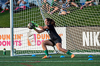 Boston, MA - Sunday September 10, 2017: Sammy Jo Prudhomme during a regular season National Women's Soccer League (NWSL) match between the Boston Breakers and Portland Thorns FC at Jordan Field.