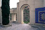 Wrigley Memorial, Wrigley Botanical Garden, Avalon, Catalina Island, California