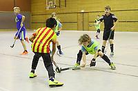 Rüsselsheim 17.12.2016: Hockeyturnier der Grundschulen vom RRK Rüsselsheim<br /> Hart umkämpfte Spiele beim Hockeyturnier der Grundschulen