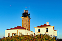 Beavertail lighthouse, Jamestown, Rhode Island, RI, USA