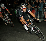 The London Nocturne Cycle Races June 2012 held in Smithfields London.  <br /> Ian Stannard was the winner of the Pro race at the end of the evening. He lapped the field and when he caught the peloton he rode away from them again !