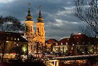 Minoritenkirche in Graz, Steiermark, Österreich, UNESCO-Weltkulturerbe<br /> Church of Minorites, Graz, Styria, Austria, heritage site