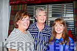 Enjoying a night out in Cassidys on Friday night.<br /> L-r, Helen Crowley (Abbeydorney), Mary Nolan (Tralee) and Philomena Byrne (Newry, Co. Down).