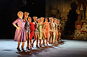 London, UK. 04.09.2017. The National theatre presents &ldquo;Follies&rdquo;, written by James Goldman, with<br /> music and lyrics by Stephen Sondheim. This production is directed by Dominic Cooke, choreographed by Bill Deamer, with design by Vicki Mortimer and lighting design by Paule Constable. Tracie Bennett,&nbsp;Janie Dee&nbsp;and&nbsp;Imelda Staunton&nbsp;play the magnificent Follies in this new production, which features a cast of 37 and an orchestra of 21.&nbsp;<br /> Picture shows: The ensemble. Photograph &copy; Jane Hobson.