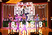Chinese performers entertain the crowd on stage at the Venetian Macau Resort Hotel in Macau, China.