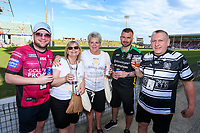 Picture by David Neilson/SWpix.com/PhotosportNZ - 10/02/2018 - Rugby League - Betfred Super League - Wigan Warriors v Hull FC  - WIN Stadium, Wollongong, Australia - Hull FC fans.