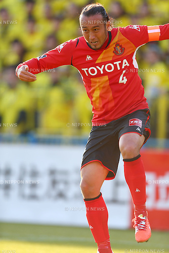 Marcus Tulio Tanaka (Grampus),<br /> MARCH 15, 2014 - Football / Soccer :<br /> 2014 J.League Division 1 match between Kashiwa Reysol 0-1 Nagoya Grampus at Hitachi Kashiwa Soccer Stadium in Chiba, Japan. (Photo by Kenzaburo Matsuoka/AFLO)
