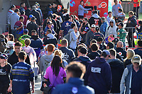 Fans and supporters.<br /> NRL Premiership Rugby League. Vodafone Warriors v North Queensland Cowboys. Mt Smart Stadium, Auckland, New Zealand. Saturday 7 April 2018. &copy; Copyright photo: Marty Melville / www.Photosport.nz