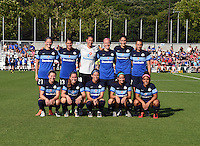 Kansas City, MO - Saturday June 25, 2016:  FC Kansas City Starting XI during a regular season National Women's Soccer League (NWSL) match at Swope Soccer Village.