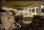 Area archeologica allestita all'interno del parcheggio multipiano di porta palazzo.