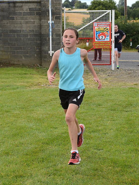 Abbie Sheridan was the first female home in Tiaran's 5K run at Hunterstown. Photo:Colin Bell/pressphotos.ie