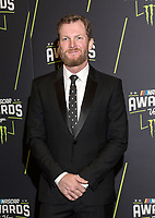 LAS VEGAS, NV - NOVEMBER 30: Dale Earnhardt Jr. arriving to the 2017 NASCAR Sprint Cup Awards at The Wynn Hotel & Casino in Las Vegas, Nevada on November 30, 2017. Credit: Damairs Carter/MediaPunch /NortePhoto NORTEPHOTOMEXICO