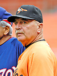 19 May 2007: Baltimore Orioles pitching coach Leo Mazzone watches batting practice prior to facing the Washington Nationals at RFK Stadium in Washington, DC. The Orioles defeated the Nationals 3-2 in the second game of the 3-game interleague series...Mandatory Photo Credit: Ed Wolfstein Photo