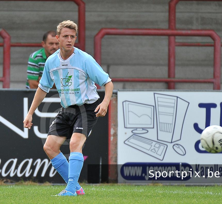 SK Westrozebeke : Jochen Seynaeve<br /> foto VDB / Bart Vandenbroucke