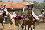 MEXICAN WOMEN DEMONSTRATE THEIR EQUESTRIAN SKILLS at the ANNUAL WINE FESTIVAL<br /> (4)
